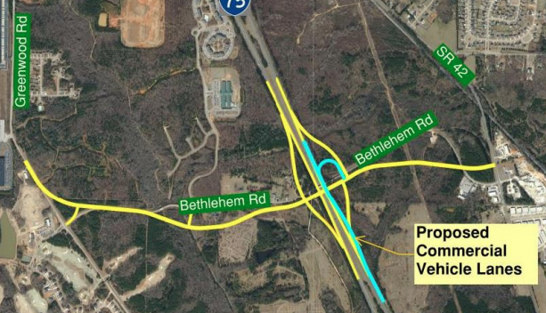 Design RFP available for I-75 interchange at Bethlehem Road – Moving on beaches georgia map, us 41 georgia map, ohio georgia map, interstate georgia map, i 85 georgia map, kentucky georgia map, i 95 georgia map, i 20 georgia map, us 27 georgia map, i-675 georgia map, i 285 georgia map,