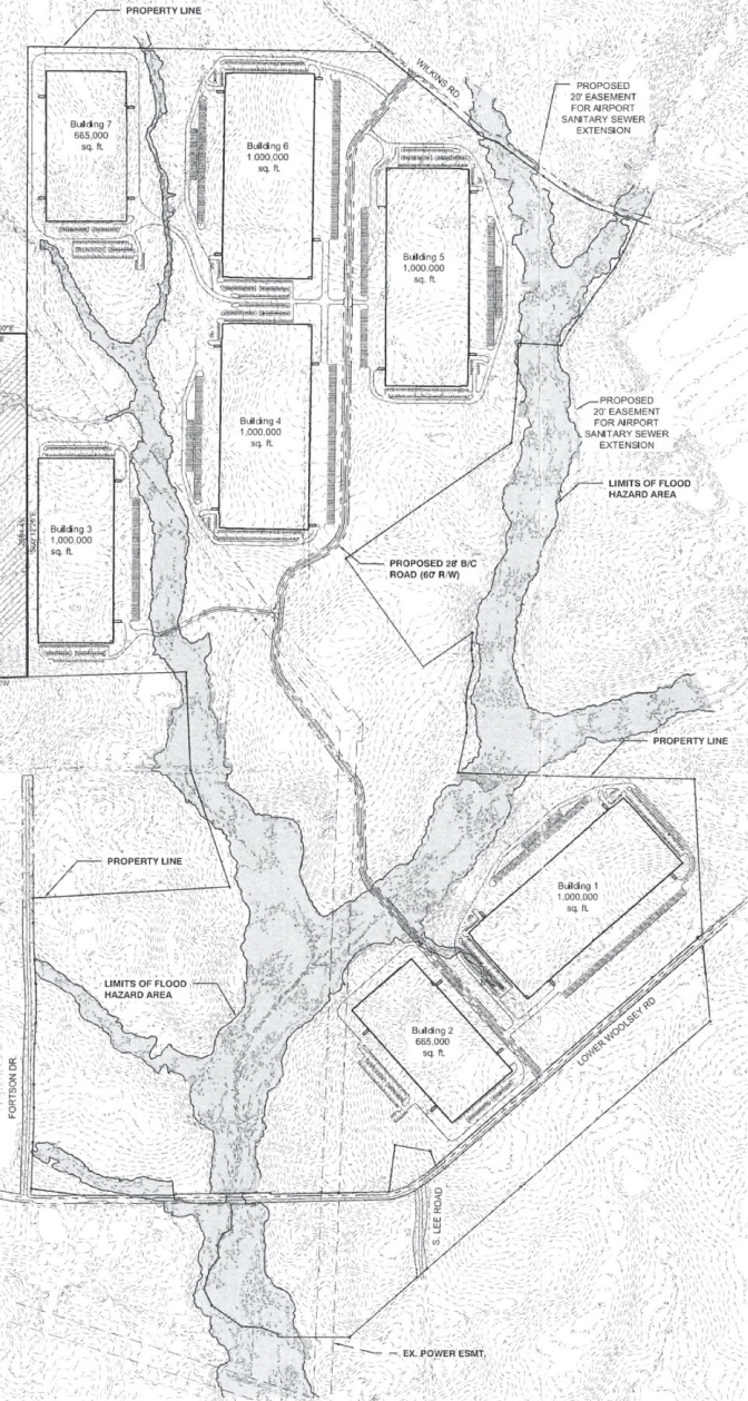 Site Plan for Lower Woolsey Henry 780
