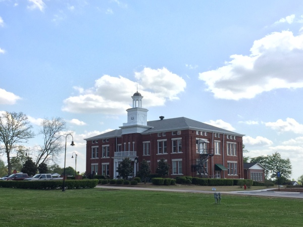 Photo of Locust Grove city hall (staff photo)