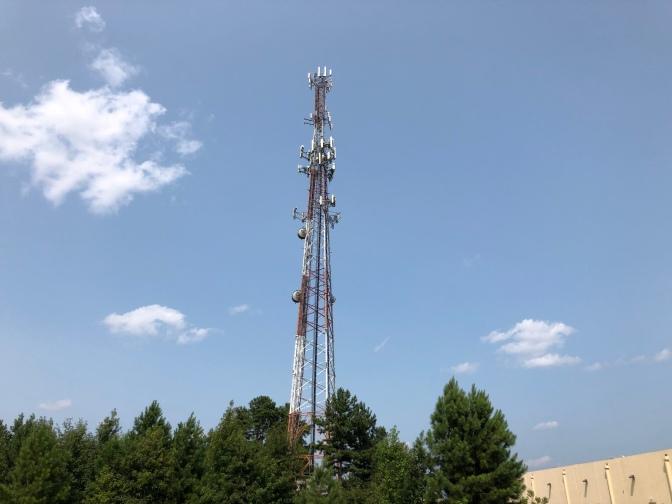 Radio tower within Henry County (Staff photo)