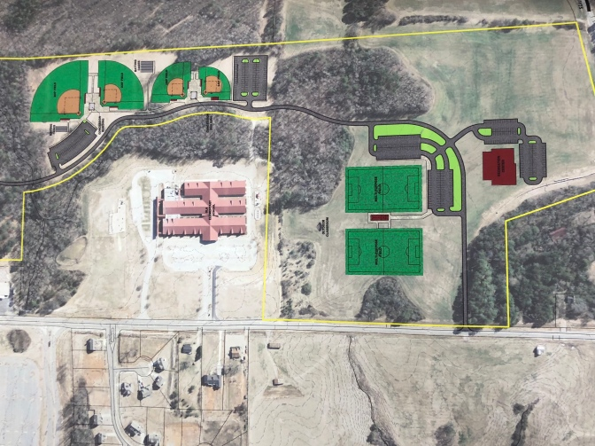 Master Plan for North Ola Park