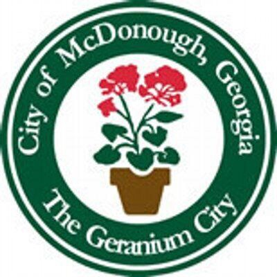 City of McDonough logo