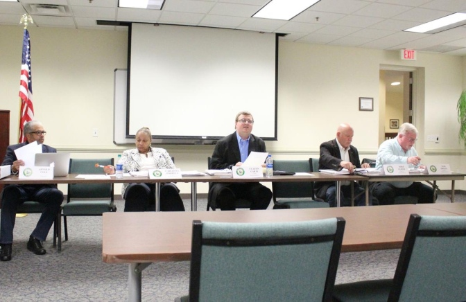 Photo of SPLOST V committee at Henry County Administration Building