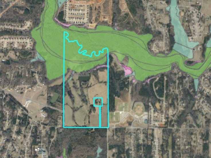 Location of Millers Mill Road rezoning request