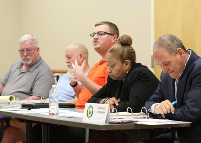 Photo of SPLOST V committee at February 7 meeting