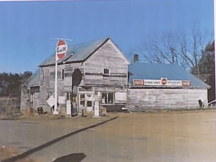 Photo of historic general store in Ola