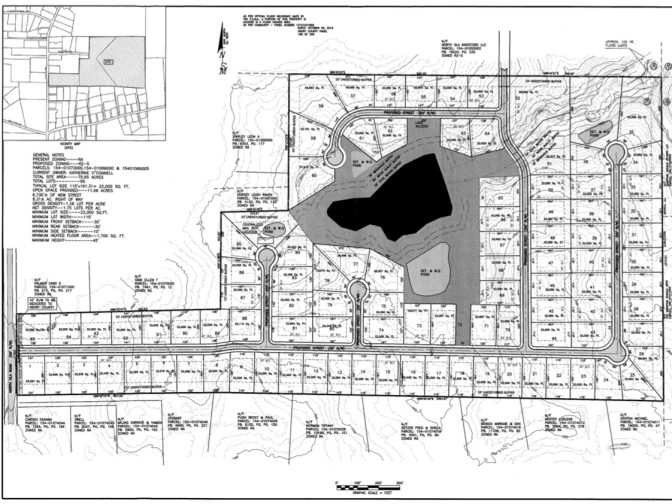 646 North Ola Road concept site plan