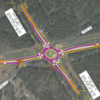 Roundabout planned for State Route 81 at Snapping Shoals Road