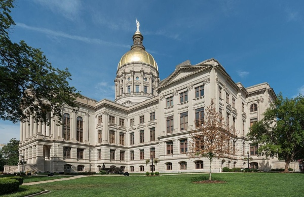 Photo of Georgia State Capitol (Wikimedia Commons photo)