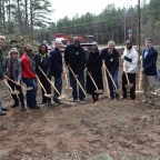 Henry County breaks ground on Panola Mountain greenway trail